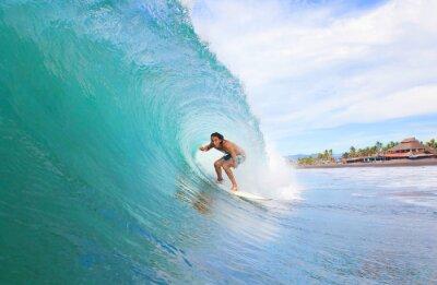 Obraz Surfer w probówce