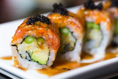 Obraz Sushi rolki