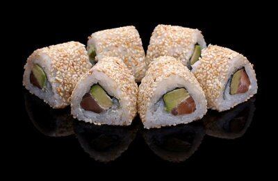 Obraz sushi, rolki