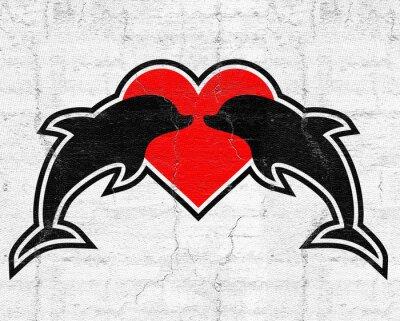 Obraz symbol miłości