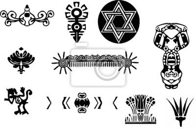 Obraz symbole starożytne