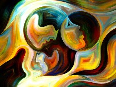 Obraz Synergie farby Wewnętrznej