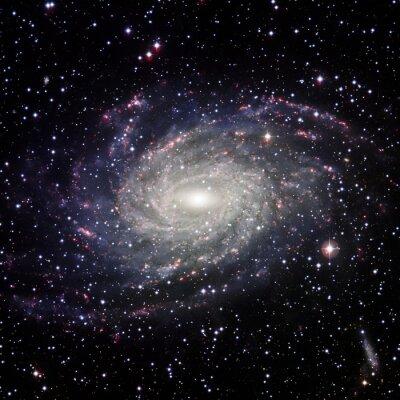 Obraz System View Galaxy pojedyncze elementy tego zdjęcia dostarczone przez NASA