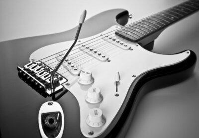Obraz Szczegóły gitara elektryczna