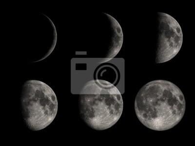 sześć księżyców