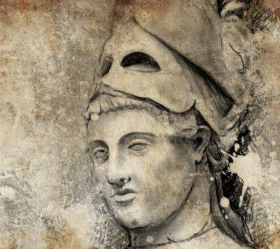 Obraz Szkic wykonany z cyfrowym tablecie ogólnych Peryklesa