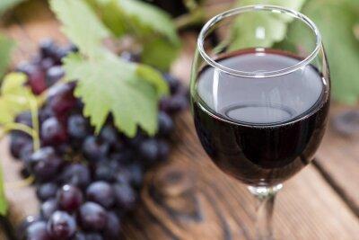 Obraz Szkła z czerwonego wina