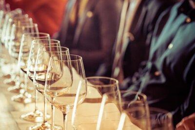 Obraz Szkło do degustacji wina