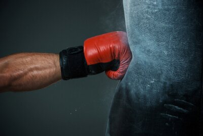 Obraz Szkolenia i wykrawania worek bokserski