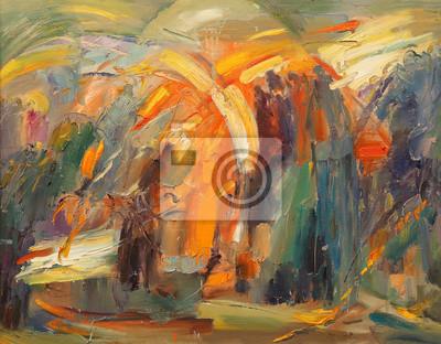 Obraz Sztuka abstrakcji
