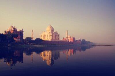 Obraz Taj Mahal Indie siedmiu cudów Concepts