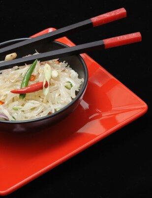 Obraz Tajska sałatka z pomelo, świeże