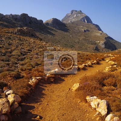 terra-Cotts piasek sposób na zatokę Balos na Krecie