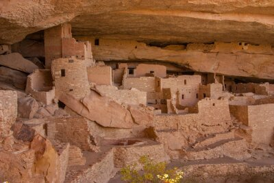 Obraz The Balcony House, or the Cliff Palace, Mesa Verde National Park, Colorado, USA.