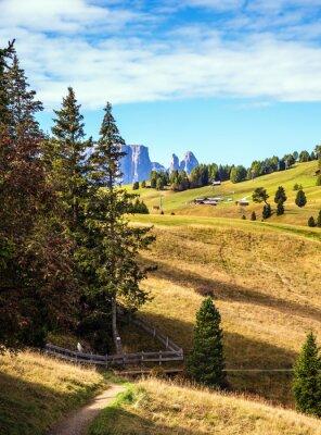 The Dolomites valley
