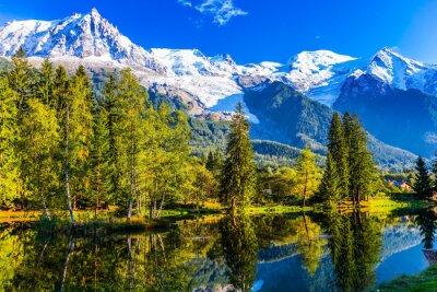 The resort of Chamonix