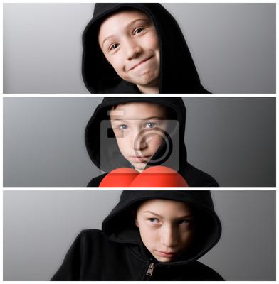 thre chłopak banery boxer