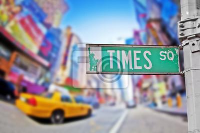 Obraz Times square sign