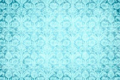 Obraz tła - niebieski blask