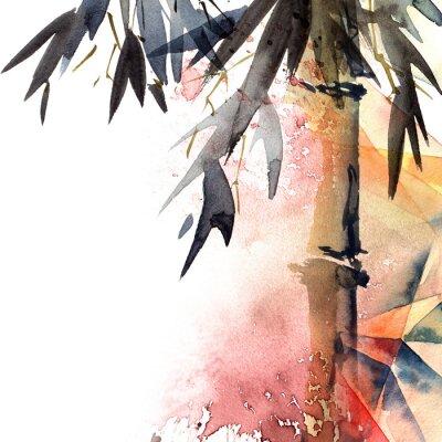 Obraz Tło z bambusa