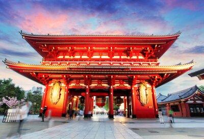 Obraz Tokio - Japonia, Asakusa Temple
