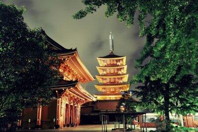 Obraz Tokio świątynia