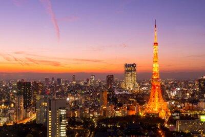 Obraz Tokyo Tower, Tokio, Japonia