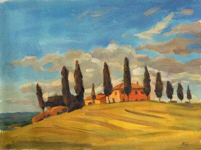 Obraz Toskana