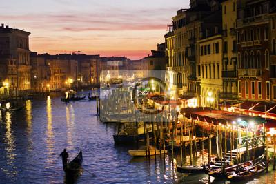 Tramonto Venezia, Italia