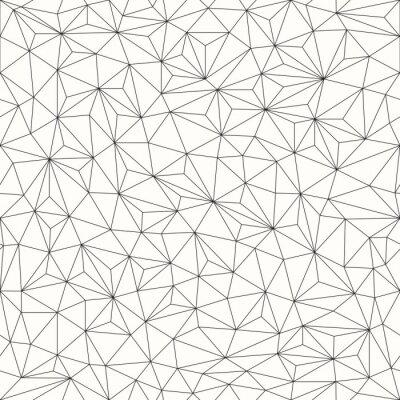 Obraz Trójkąty w tle, bez szwu wzór, projektowanie linii