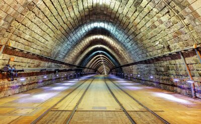 Obraz tunel kolejowy