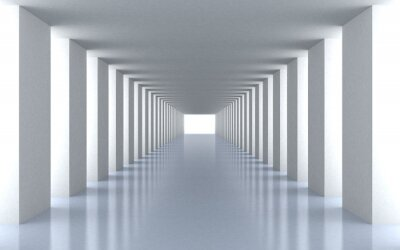 Obraz Tunnel białe światło