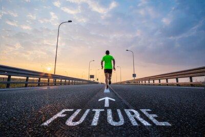 Obraz Uruchom w przyszłości