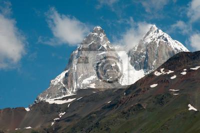 Ushba - Góry Kaukazu