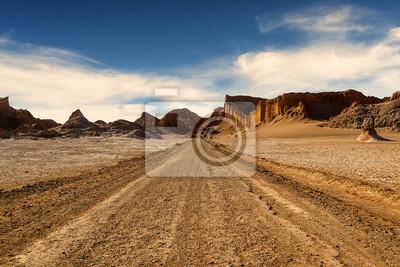 Valle de la Luna w pustyni Atacama, Chile, 2013