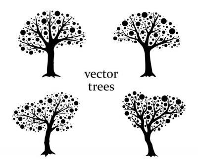 Obraz Vector drzew