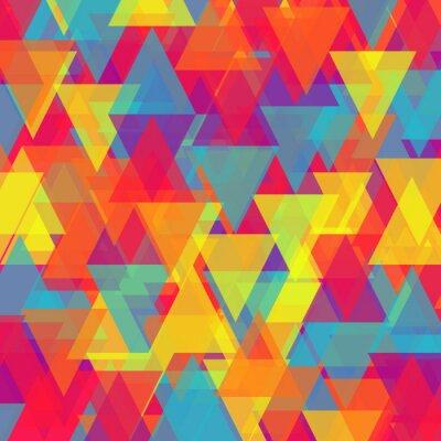 Obraz Vector streszczenie tle trójkąta