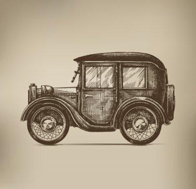 Obraz Vintage samochodów