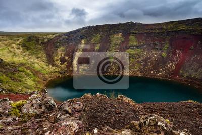 Vulkansee w Wyspa