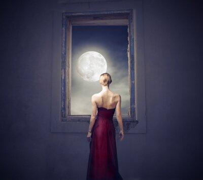Obraz W świetle księżyca