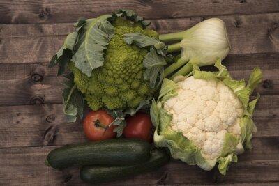 Obraz warzywa