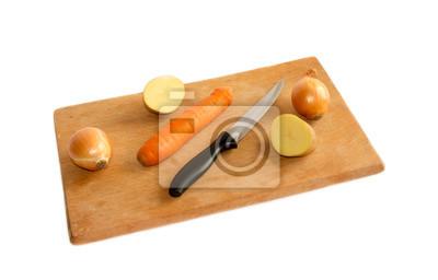 warzywa na pokładzie cięcia