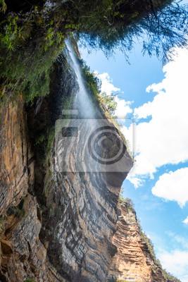 waterfall at the Blue Mountains Australia