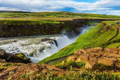 Waterfall Gullfoss