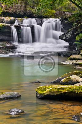 Waterfall on Dunloup Creek