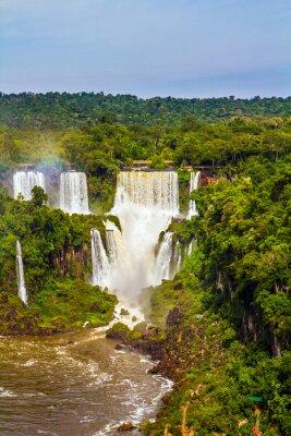Waterfalls from Iguazu Falls
