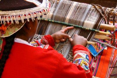 Obraz Weberin w Cusco / Peru