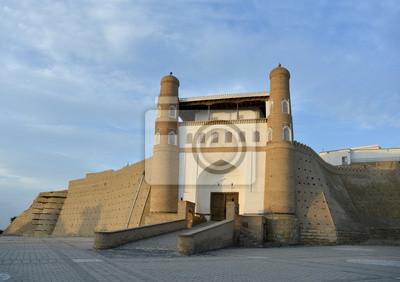 wejście do twierdzy Ark (Buchara)