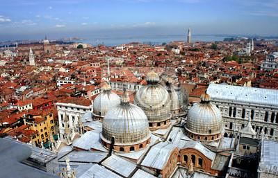 Obraz Wenecja dachy