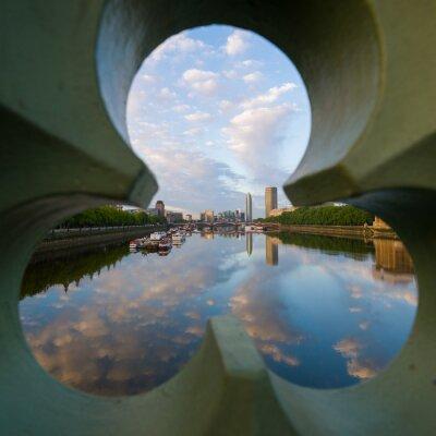 Obraz widok na Tamizę w Londynie